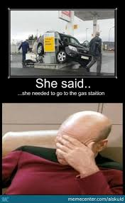 Gas Station Meme - failed to take gas at the gas station by alskuld meme center