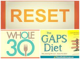 our whole30 u0026 gaps diet reset natural contents