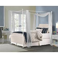 canopy bed frame full
