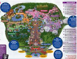 Magic Kingdom Disney World Map by Disney World Magic Kingdom Rides Disney World The Magic Southtracks