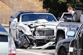 kylie khloe and kanye rush to the crash scene as kris jenner is