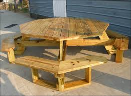 exteriors 6 sided picnic table picnic table art picnic table