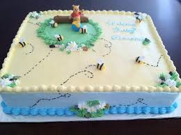 winnie the pooh baby shower cakes pooh baby shower cakes party xyz