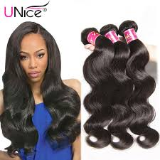 ali express hair weave unice hair offical store 7a peruvian virgin hair bundles 3pcs lot