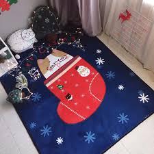 children area rugs 150x195cm christmas socks carpets for living room children bedroom