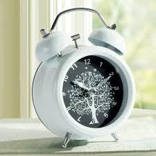 night light alarm clock cute metal alarm clock creative student mute alarm clock bedside