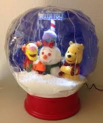 image disney winnie the pooh snow globe gemmy airblown