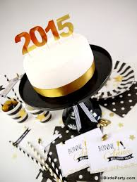 Diy New Years Eve Table Decorations by Black White U0026 Gold New Year U0027s Eve Party Ideas Party Ideas