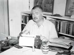 Hemingway Desk Searching For Ernest Hemingway U0027s Black Beans Recipe Chicago Tribune