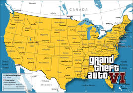 Arizona On Us Map by Gta 6 Will Have The Entire Us Map Gta V Ps4 Youtube