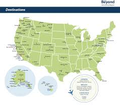Map Of Florida Airports by Airline Destination Map Alaska Beyond Magazine