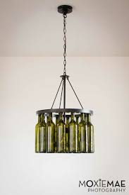 Diy Bottle Chandelier Diy Wine Bottle Chandelier Crafts Pinterest Wine Bottle