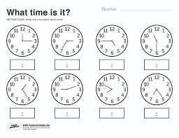 telling time assessment worksheet basic telling time worksheets for kindergarten telling time