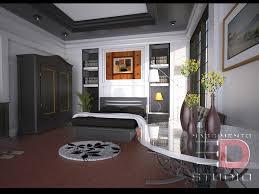n 3d bedroom interior