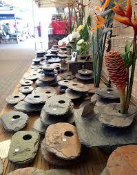 Ikebana Vase Slate Ikebana Vases Home