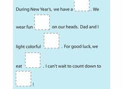 kindergarten new year worksheets u0026 free printables education com