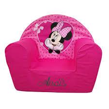 canapé minnie fauteuil enfant personnalisé minnie disney ourson câ