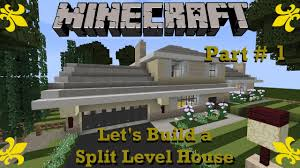 minecraft let s build a 4 level split level house part 1 youtube minecraft let s build a 4 level split level house part 1