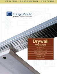 ceiling suspension systems chicago metallic corporation pdf