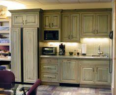 Distressed Kitchen Cabinets Antique Sage Green Cabinets Kitchen Pinterest Kitchens Sage