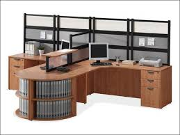 2 person workstation desk person l desk workstation with desk mounted panels