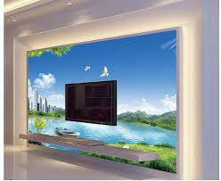3d wall murals home decoration nature city outdoor landscape 3d