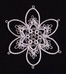 2104 best tatting snowflake images on tatting patterns