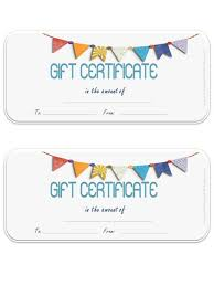 microsoft gift certificate templates