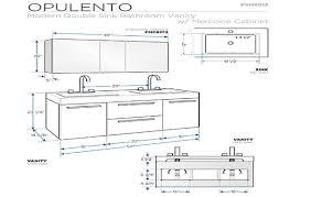 Double Sink Bathroom Vanity Clearance by Sink Measurements Descargas Mundiales Com