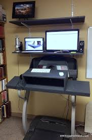 Walking Desk Treadmill Best Diy Treadmill Desk Walking And Working To A Better Life