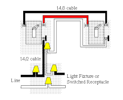 how to wire a three way and four way switch configuration