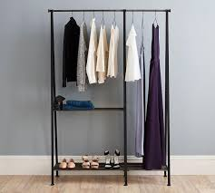 bedroom furniture sets rolling garment rack stand alone clothes