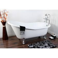 bathroom clawfoot tub dimensions cast iron bathtubs small