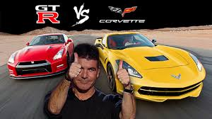 nissan corvette the battle nissan gt r vs chevrolet corvette vettetube