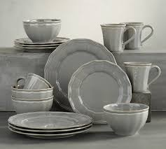 The White China Barn Dinnerware Sets Pottery Barn