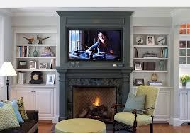 living room designs with fireplace and tv 20 ways to incorporate wall mounted tvs and shelves into your decor