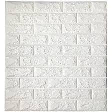realistic brick wallpaper grey and white amazon com