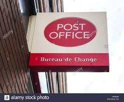 bureau change bureau de change sign stock photos bureau de change sign stock
