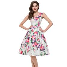 flower dress aliexpress buy 2015 women summer desigual floral rockabilly