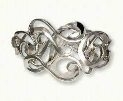 sterling silver monogram bracelet custom monogram bracelets by designet international