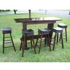 Reclaimed Wood Bar Table Reclaimed Wood Furniture Antique Oak Custom Bar Table The Oak