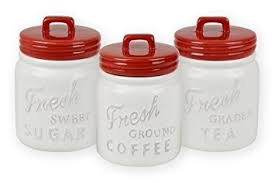 coffee kitchen canisters dii 3 vintage retro farmhouse chic jar