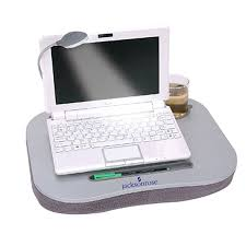 Laptop Cushion Desk by Laptop Desk Cushion With Light And Cup Holder Hostgarcia