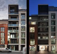 residential building patio contemporary excerpt facades loversiq