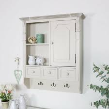 kitchen wall mounted cabinets wall mounted cupboard with hooks country kitchen bathroom storage