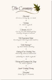 Simple Wedding Program Templates Wedding Programs Wedding Program Wording Program Samples Program