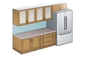 what is the standard height of a kitchen wall cabinet what is a standard kitchen counter depth quora