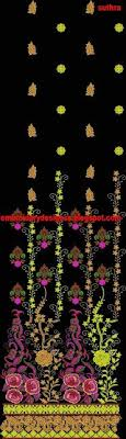 parsi border embroidery designs for sarees emb iv16