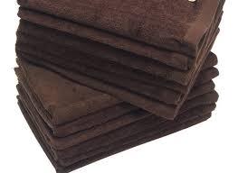 brown 11x18 inch finger towels towel supercenter