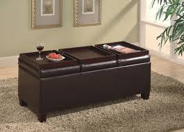 Leather Ottoman Coffee Table Rectangle 107 Best Ottoman Coffee Tables Images On Pinterest Home Ideas